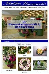 Webdesign Abutilon Blumenparadies