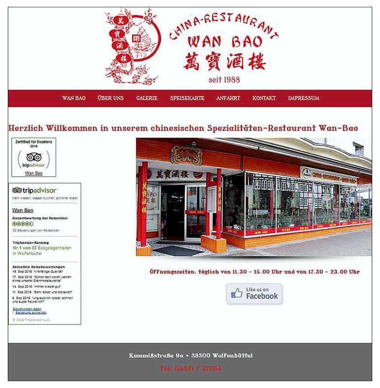 Webdesign Wan-Bao Wolfenbuettel
