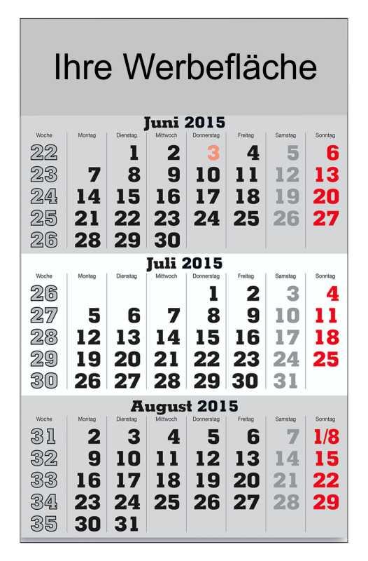 3-monatskalender