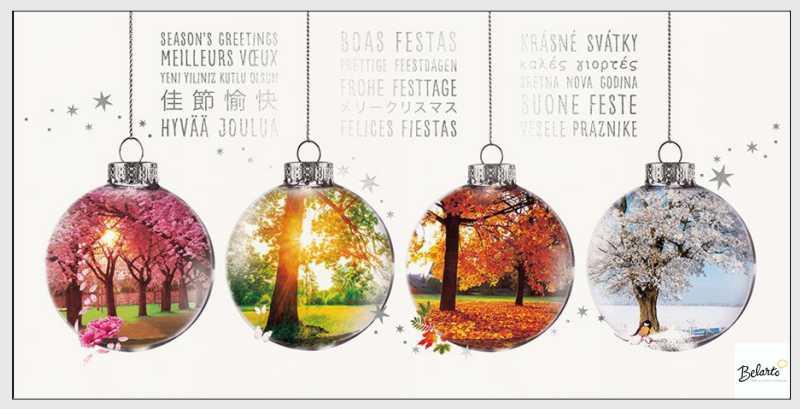 Weihnachtskarten werbeagentur loof for Weihnachtskarte foto online