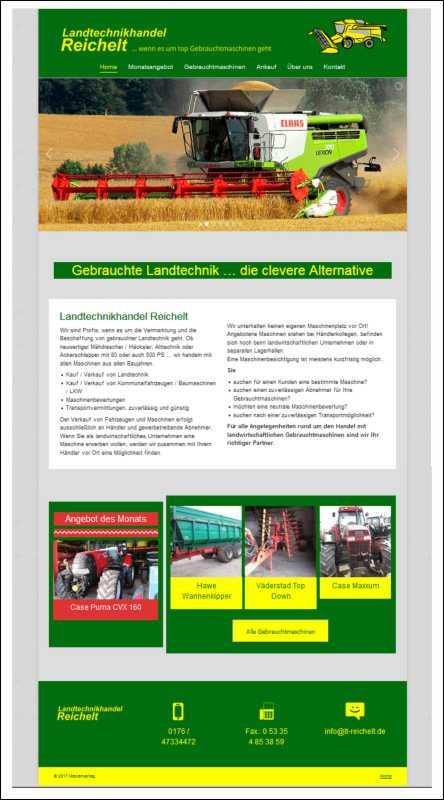 Landtechnikhandel Reichelt
