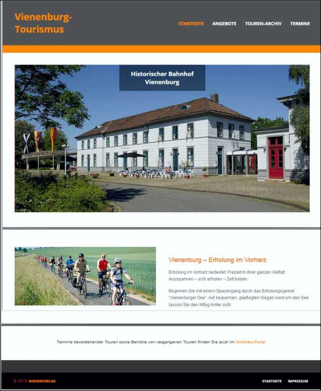 Vienenburg-Touristmus Web